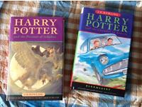 2x Harry Potter first editions