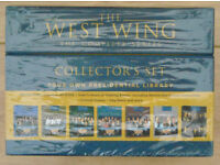 AS NEW West Wing Complete Series 1 to 7 COLLECTORS EDITION (112 hours) +Additional 2 DVD's & Booklet