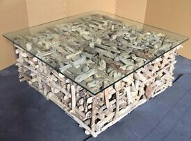 Coffee Table - Brand New Indonesian Reclaimed Driftwood