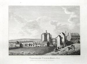 HAMPSHIRE,ISLE OF WIGHT CARISBROOKE CASTLE , Grose, Hooper Antique Print 1784