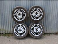 "Alfa Romeo 17"" Alloy wheels x4 (5x110)"