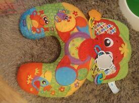 Elephant hugs tummy time baby playmat/gym