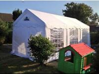 Gala tents 4m x 6m pvc marquee with carpet