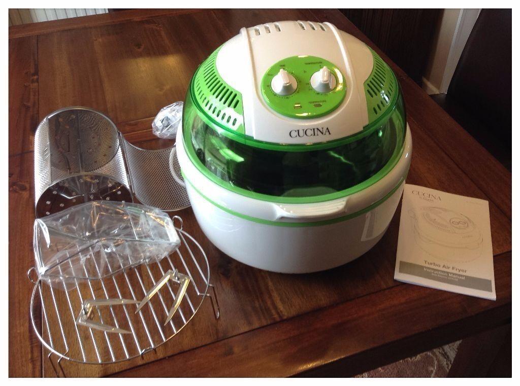 New In Box Cucina Turbo Air Fryer Halogen Cooker In Torquay