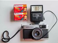 Olympus Trip 35 - with flash and 2 rolls of film