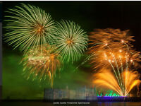 Leeds Castle Fireworks Spectacular - Sunday 4 tickets available