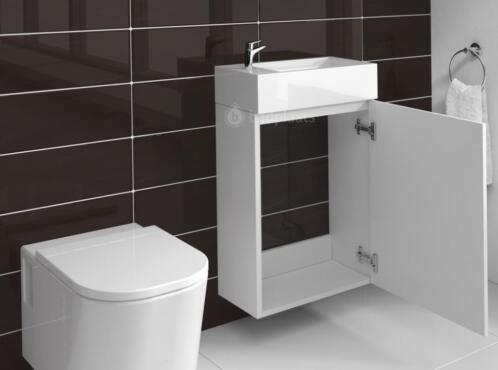 Wastafel Met Kast : ≥ compact badkamermeubel toilet wastafel kast badkamer kast