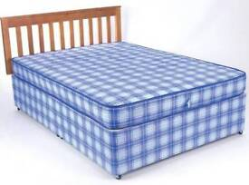 Clearance Brand New Divan Double Bed with Mattress