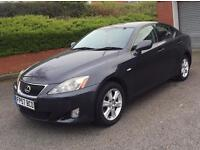 LEXUS IS220D SPORT 2008 KEY LESS ENTRY GENUINE MILEAGE STARTS AND RUNS MINT