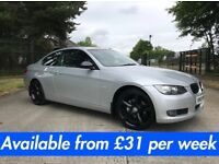 BMW 320i (320d 330d A3 A4 A5 Golf Jetta IS220) £31 per week