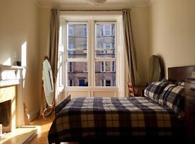 Beautiful double bedroom in marchmont