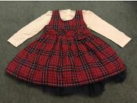 *BRAND NEW WITH TAGS* Matalan Girls Top/Dress ~ Two Piece Set ~ Aged 12-18months