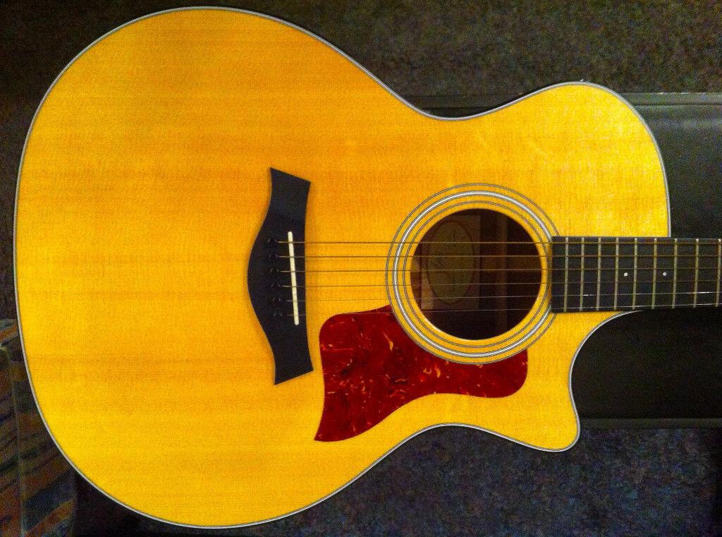 Taylor 314CE LTD Koa Limited Edition (2012) Grand Auditorium Electro Acoustic Guitar
