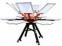 Silk Screen Printing Machine 6 Colors OLTEX