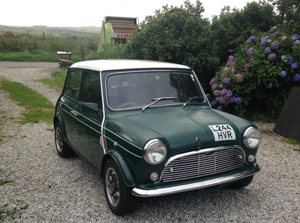 Beautiful Classic Mini Cooper Spi Racing Green In Bath Somerset