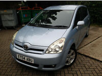 IMMACULATE TOYOTA VERSO 7 SEATER. PERFECT FAMILY CAR. FULL SERVICE HISTORY. LONG MOT . SUPERB DRIVE