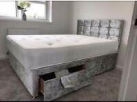 !*LUXURY BEDS*! Made in the UK *FREE DELIVERY AND HEADBOARD* - BRAND NEW