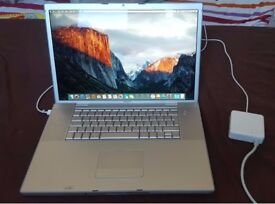 Macbook Pro Core 2 Dou 2.5ghz 4Gb RAM - Fully working