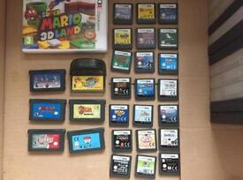 Nintendo DS and GBA games