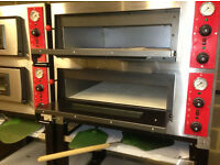 Electric Pizza Double Deck Oven