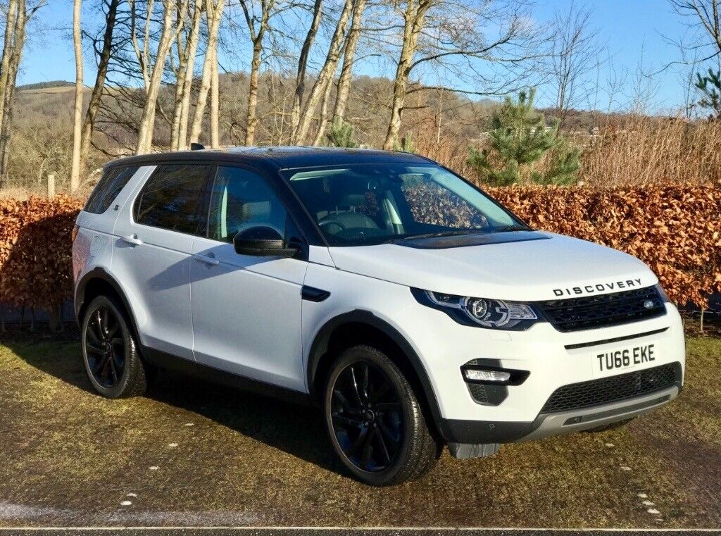 Landrover Discovery Sport 2 0d 180 Auto Awd Hse Black In Galashiels