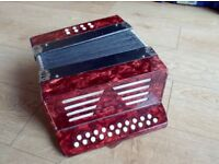 BUTTON ACCORDION / SQUEEZEBOX / MELODEON