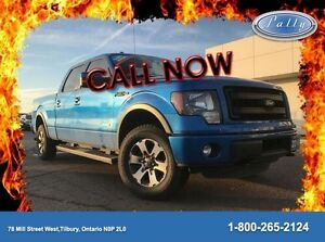 2014 Ford F-150 FX4, Moonroof, power. sliding window, One owner!