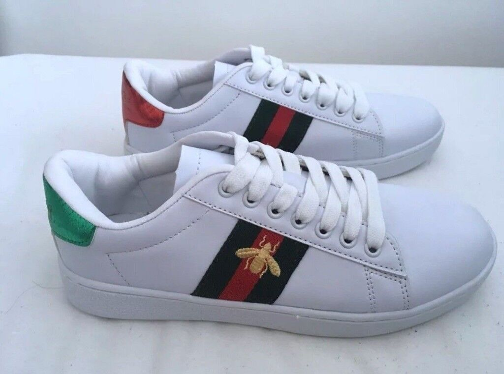 ee6b3111454 WOMEN S GUCCI ACE TRAINERS UK SIZE 7 FOR SALE !!! BRAND NEW !!!!