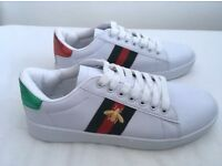 **** WOMEN'S GUCCI ACE TRAINERS UK SIZE 7 FOR SALE !!! BRAND NEW !!!! COLLECTION ****