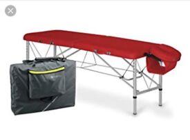 Habys Aero 60 massage table Red (New/Unused)