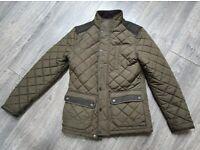 Mens NEXT smart quilted jacket Small/Medium