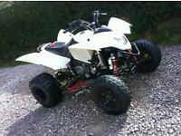 Quadzilla 2014 500cc road legal quad raptor ltz yfz