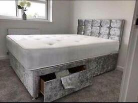 🛏 !*LUXURY BEDS*! Made in the UK *FREE DELIVERY AND HEADBOARD* - BRAND NEW 🛏