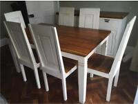 French Country kitchen dining set