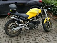 Ducati Monster 600 + A2 licence Restrictor (not fitted) + Mot, HPI, paperwork