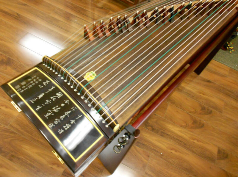 Dunhuang Concert Guzheng 695t Thailand Rosewood Chinese Zither