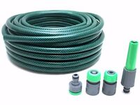 Garden Hose with 4 Connector - 25m