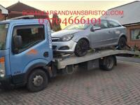 WANTED SCRAP CARS VANS CASH PAID SAME DAY COLLECTION ALL BRISTOL AREAS