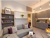 Move in today! LARGE STUDIO, Fully furnished Modern & stylish flat, Short Let 2 months minimum