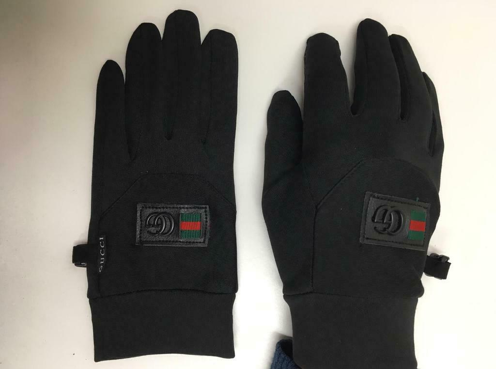 c8d06f63c87 Gucci Gloves Moncler Glove Leather Black Cheap online UK London surrey essex  ealing harrow hackney