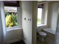 Two bedroom (one en-suite) ground floor flat for rent. £450 per calendar month. Shared garden.