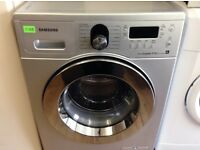 SAMSUNG eco bubble - 8.0KG , SILVER , Digital WASHER