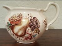 Vintage Windsor Ware Fruit pattern cream jug - Attractive and immaculate