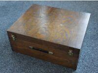 Thorens TD 150 vintage wooden plinth / cabinet