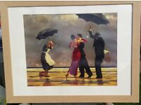 Framed Jack Vettriano Print The Singing Butler