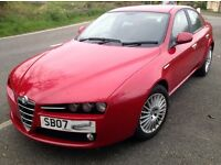 Alfa Romeo 159 2.4 - full service, new clean MOT, belts replaced, none smoking, good reason for sale