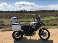 BMW F800 GS ADVENTURE with lots of extras.
