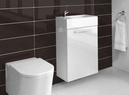 ≥ Compact badkamermeubel toilet wastafel kast badkamer kast ...