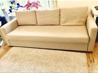 Sofa bed Ikea Frihiten. Very good condition lovely comfortable 3-4 seater. corner sofa bed range.