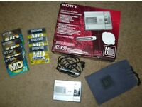 Sony MZ-R50 Personal Digital Minidisc Recorder